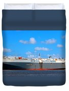 Global Carrier Duvet Cover