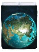 Globe Physical Asia Duvet Cover