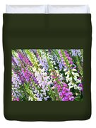 Glorious Foxgloves Duvet Cover