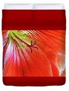 Glorious Geranium Duvet Cover