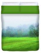 Glorious Greens Duvet Cover