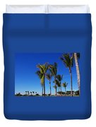 Glorious Palms Duvet Cover