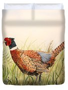 Glorious Pheasant-1 Duvet Cover