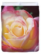 Glorious Pink Rose Duvet Cover