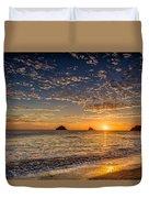 Glorious Playa Sunset Duvet Cover