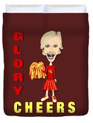 Glory Cheers Duvet Cover