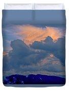 Glory Of Sunset Duvet Cover