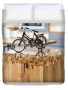 Glossy Coffee Table Duvet Cover