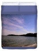 Gloucester Beach Duvet Cover