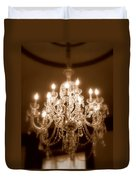 Glow From The Past Duvet Cover