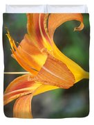Glow Of A Lily Duvet Cover