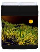 Glow Of Night Duvet Cover