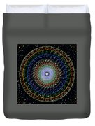 Glow Of The Ferris Wheel Duvet Cover