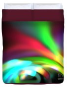 Glowing Arches Duvet Cover