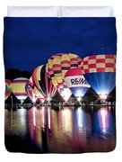 Glowing Balloons Duvet Cover