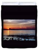 Glowing Evening Duvet Cover