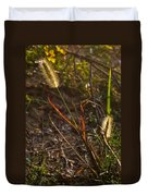 Glowing Foxtails Duvet Cover