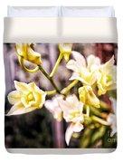 Glowing Garden Duvet Cover