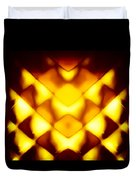Glowing Honeycomb Duvet Cover