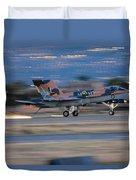 Glowing Hornet Duvet Cover