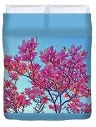 Glowing Magnolia Duvet Cover