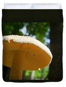 Glowing Mushroom Cap Duvet Cover