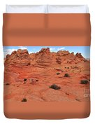Glowing Sand In The Buttes Duvet Cover