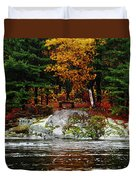 Glowing Tranquility Duvet Cover