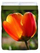Glowing Tulip Duvet Cover