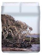 Gnarled Oak Trees Duvet Cover