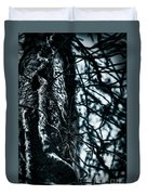 Gnarled Vines Surround A Tree Duvet Cover