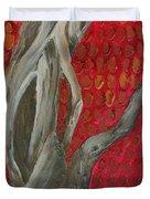 Gnarly Autumn Tree Duvet Cover