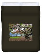 Gnarly Trees Of South Hilo Bay - Hawaii Duvet Cover