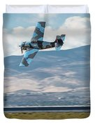 Go Fast Turn Left Fly Low Friday Morning Unlimited Broze Class Signature Edition Duvet Cover