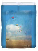 Go Fly A Kite Duvet Cover