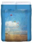 Go Fly A Kite Duvet Cover
