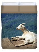 Goat Enjoy The Sun Duvet Cover