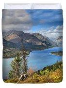 Goat Haunt Panorama Duvet Cover