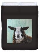 Goat Tee Duvet Cover