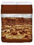 Goblin Valley Duvet Cover