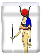 God Of Ancient Egypt - Hathor Duvet Cover