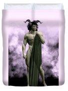 God Of The Underworld Duvet Cover