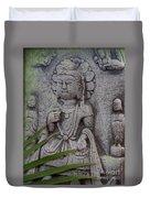 God Shiva Duvet Cover by Susanne Van Hulst