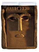 Goddess Hayyan Idol From The Temple Duvet Cover