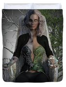 Goddess Hel Duvet Cover