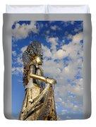 Goddess Isthmus Duvet Cover