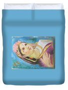 Goddess Radha Duvet Cover