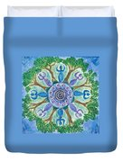 Goddesses Dancing Duvet Cover