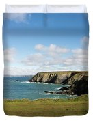 Godrevy To St Agnes, The North Cornwall Coastline Duvet Cover
