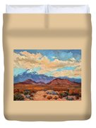 God's Creation Mt. San Gorgonio  Duvet Cover